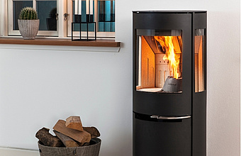Aduro H1 pellet wood burning stove